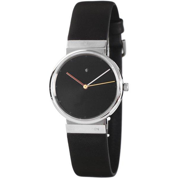 ヤコブ・イェンセン 腕時計 レディース 852 ブラック