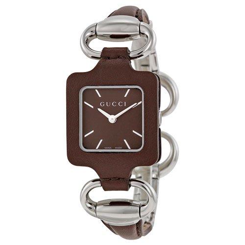 グッチ 腕時計 レディース 1921 YA130403 ブラウン×シルバー
