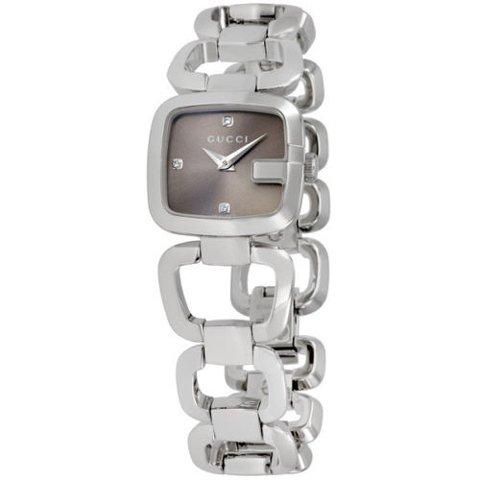 グッチ 腕時計 レディース G-グッチ YA125503 ブラウン×シルバー