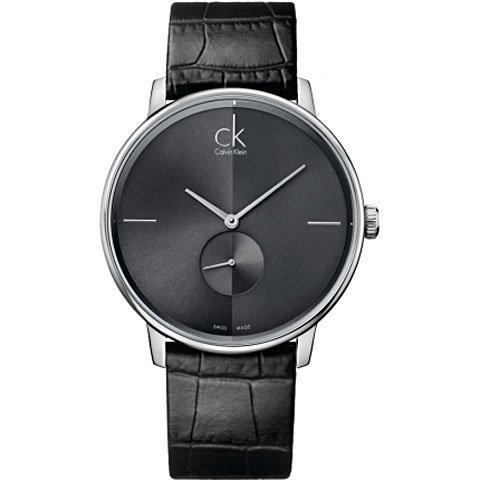 buy online ed5d6 b090c Calvin Klein(カルバンクライン)メンズ腕時計 アクセント K2Y211C3 ブラック×グレー -  おしゃれな腕時計ならワールドウォッチショップ