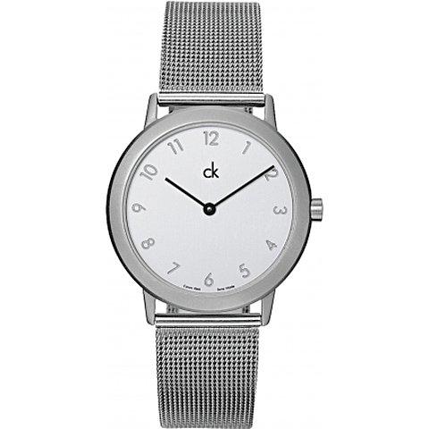 Calvin Klein(カルバンクライン) メンズ腕時計 ミニマル K0311120 ホワイト×ブラック