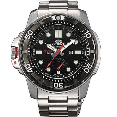 オリエント 腕時計 M-フォース EL06001B 自動巻き パワーリザーブ機能付き ブラック