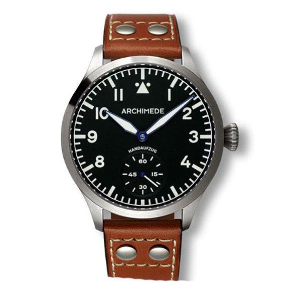 アルキメデ 腕時計 パイロットウォッチ 手巻き腕時計 UA7949-H1.2