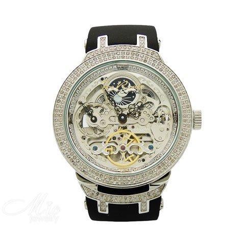 ジョーロデオ 腕時計 マスター ダイヤモンドウオッチ 2,2カラット JJM80 オートマチック