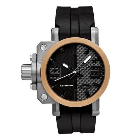 オークリー 腕時計 ギアボックス 26-303  スペシャルエディション 自動巻き ローズゴールド×ブラック