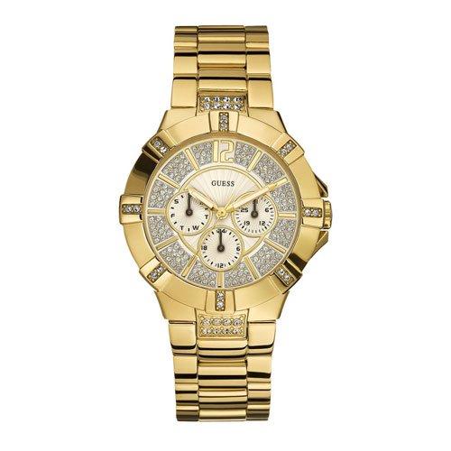 ゲス 腕時計 レディース ビスタ W13573L1  ゴールド×ゴールド