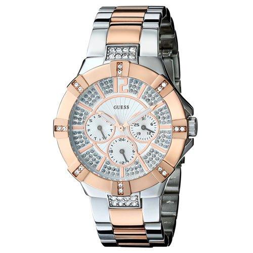 ゲス 腕時計 レディース ビスタ W0024L1  シルバー×ツートン