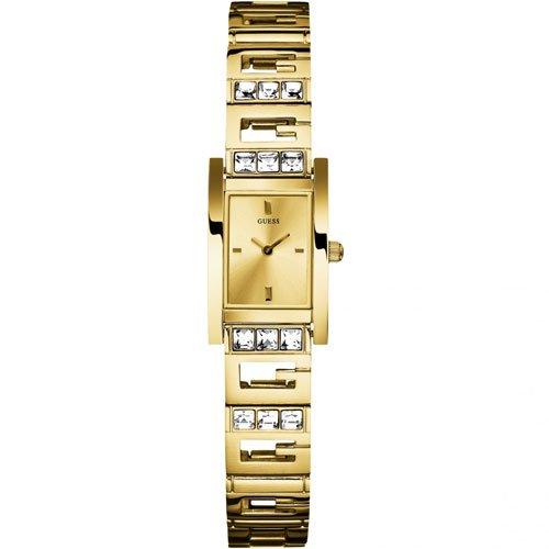 ゲス 腕時計 レディース ジーライト W10269L1  ゴールド× ゴールド