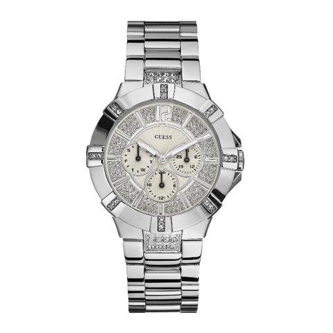 ゲス 腕時計 レディース ビスタ W12080L1 ホワイト×シルバー