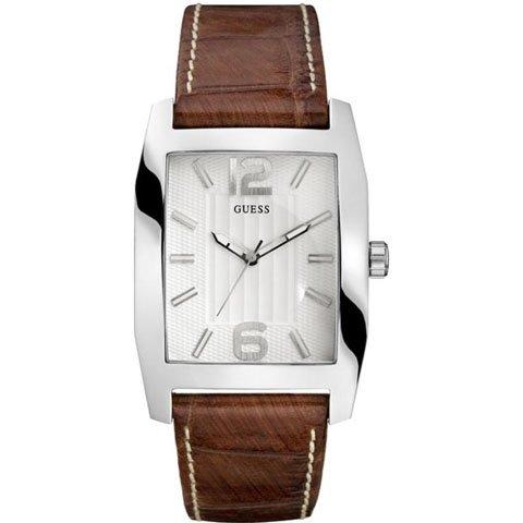 ゲス 腕時計 メンズ SVP W70023G2 シルバー×ブラウン