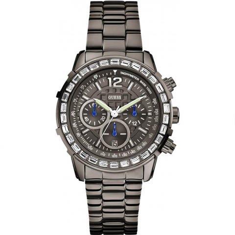 ゲス 腕時計 レディース レディB W0016L3 グレー×グレー