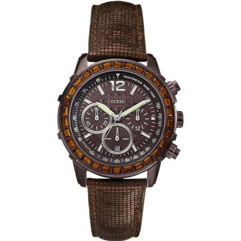 ゲス 腕時計 レディース レディB W0017L4 ブラウン× ブラウン