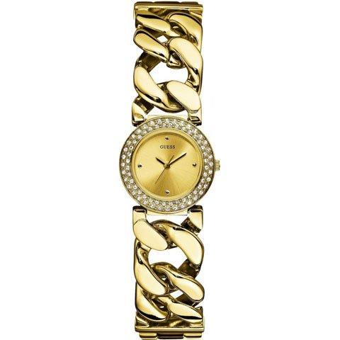 ゲス 腕時計 レディース ジャズ W0070L1 ゴールド× ゴールド