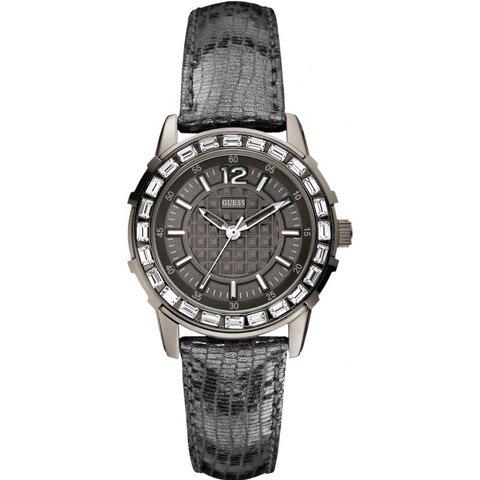 ゲス 腕時計 レディース ガーリーB W0019L2 ブラック×ブラック