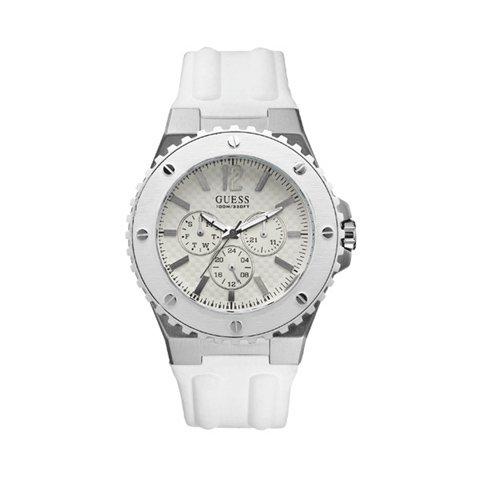 ゲス 腕時計 メンズ オーバードライブ W10603G1 ホワイト×ホワイト