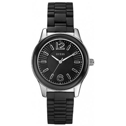 ゲス 腕時計 レディース バブルズ W85105L2 ブラック×ブラック