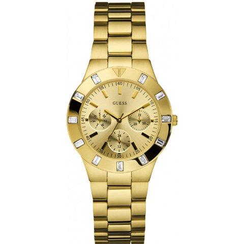 ゲス 腕時計 レディース グリステン W13576L1 ゴールド× ゴールド