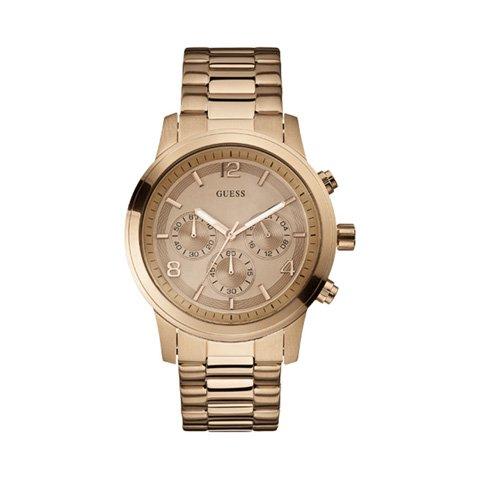 ゲス 腕時計 レディース スペクトラム W17004L1 ローズゴールド×ローズゴールド
