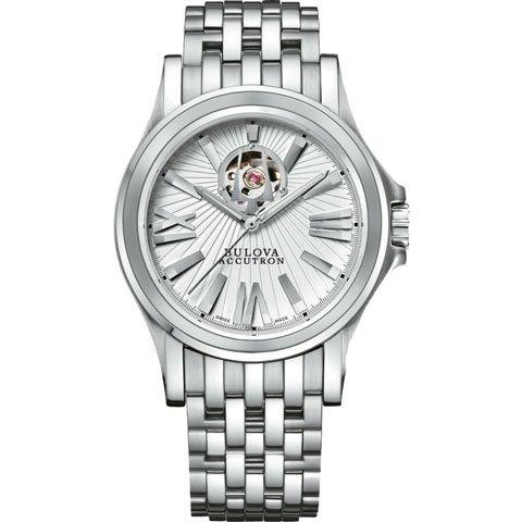 ブローバ 腕時計 カークウッド アキュトロン 63A102 シルバー