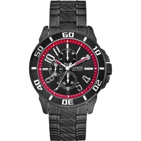 ゲス 腕時計 メンズ レイサー W18550G1 ブラック×ブラック