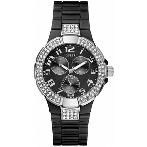 ゲス 腕時計 レディース プリズム W13564L2 ブラック× ブラック