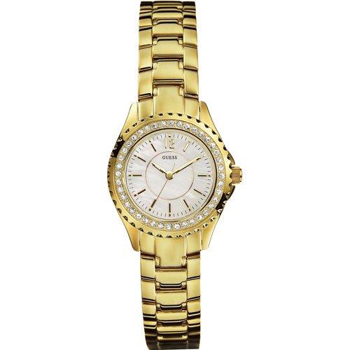 ゲス 腕時計 レディース ミニロックキャンディ I11068L1  マザーオブパール×ゴールド