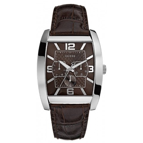 ゲス 腕時計 メンズ パワーブローカー W80009G2 ブラウン×ブラウン
