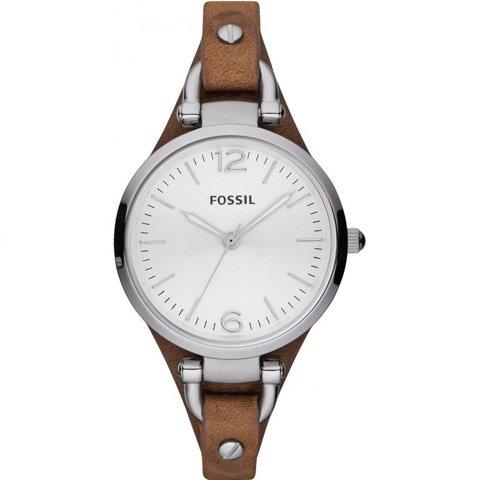 フォッシル 腕時計 レディース ES3060 ホワイト×ブラウン