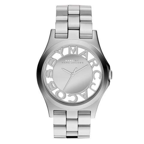 マークバイマークジェイコブス 腕時計 レディース ヘンリースケルトン MBM3205 シルバー