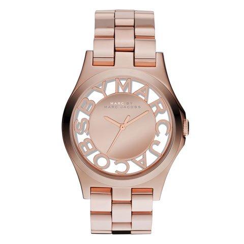 マークバイマークジェイコブス 腕時計 レディース ヘンリースケルトン MBM3207 ローズゴールド