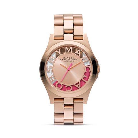 マークバイマークジェイコブス 腕時計 レディース MBM9702 ヘンリー 限定モデル ローズゴールド