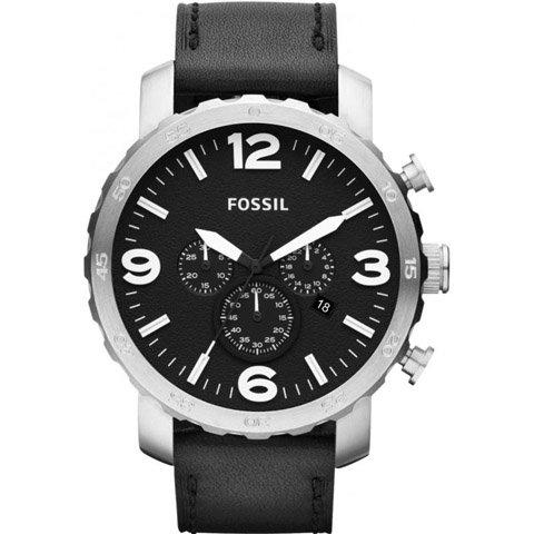 フォッシル 腕時計 メンズ ネイト JR1436   ブラック×ブラック