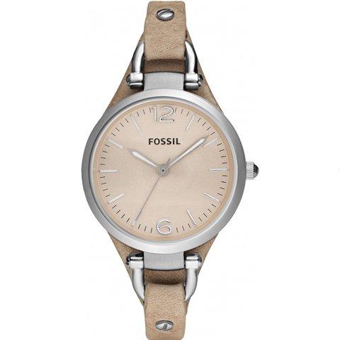 フォッシル 腕時計 レディース ジョージア ES2830 ベージュ×ベージュ