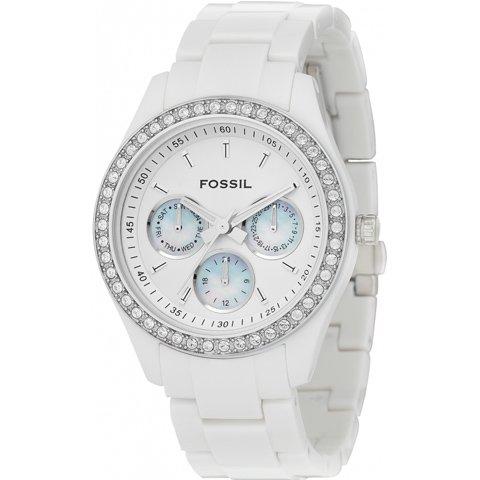 フォッシル 腕時計 レディース ステラ ES1967 ホワイト×ホワイト