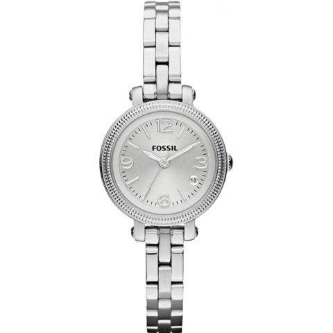 フォッシル 腕時計 レディース ミニヘザー ES3135 シルバー×シルバー