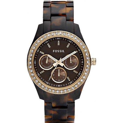フォッシル 腕時計 レディース ステラ ES2795 ブラウン×ブラウン