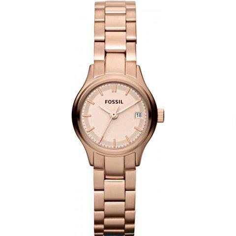 フォッシル 腕時計 レディース ミニアーカイバル ES3167 ローズゴールド×ローズゴールド