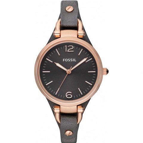 フォッシル 腕時計 レディース ジョージア ES3077 ブラック×ブラック