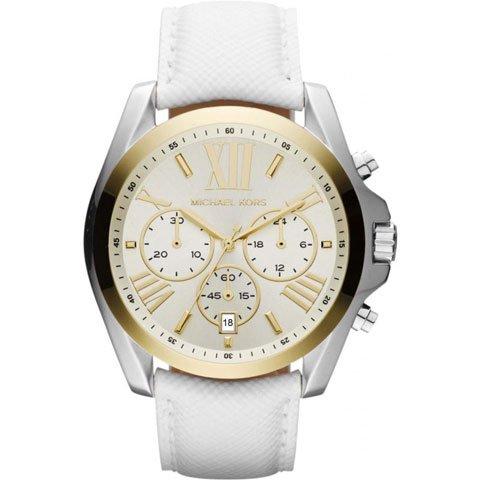 マイケルコース 時計 ブラッドショー MK2282 ホワイト×ホワイトレザー