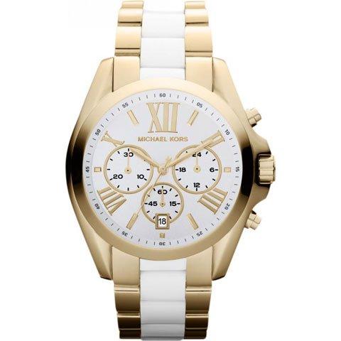 マイケルコース 時計 ブラッドショー MK5743 ホワイト×ゴールド×ホワイト