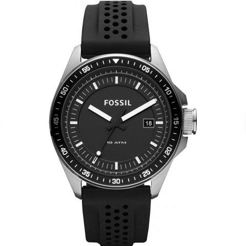 フォッシル 腕時計 メンズ デッカー AM4384 ブラック×ブラック