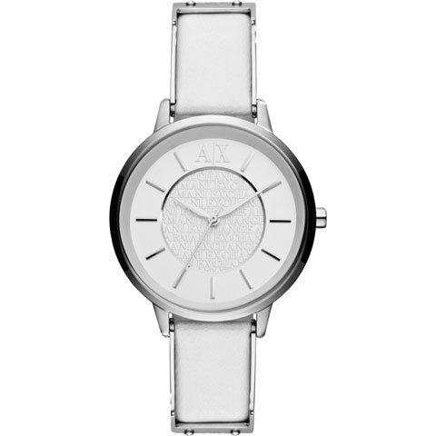 アルマーニエクスチェンジ 腕時計 レディース AX5300 ホワイト×ホワイトレザー