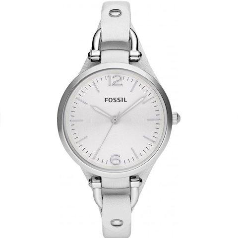 フォッシル 腕時計 レディース ジョージア ES2829 ホワイト×ホワイト