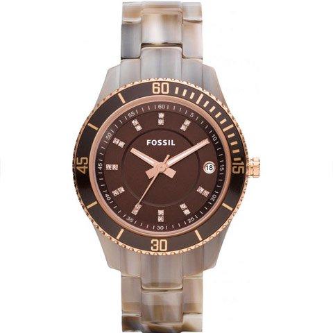 フォッシル 腕時計 レディース ステラ ES3090 ブラウン×ブラウン