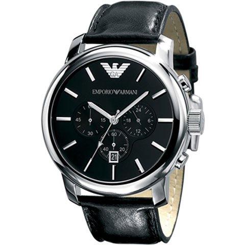 エンポリオアルマーニ 腕時計 AR0431 ブラック×ブラック