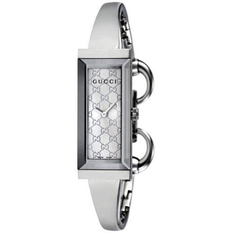 グッチ 腕時計 レディース G-フレーム YA127511 シルバー×シルバー