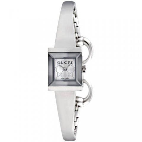 グッチ 腕時計 レディース G-フレーム YA128511 シルバー×シルバー