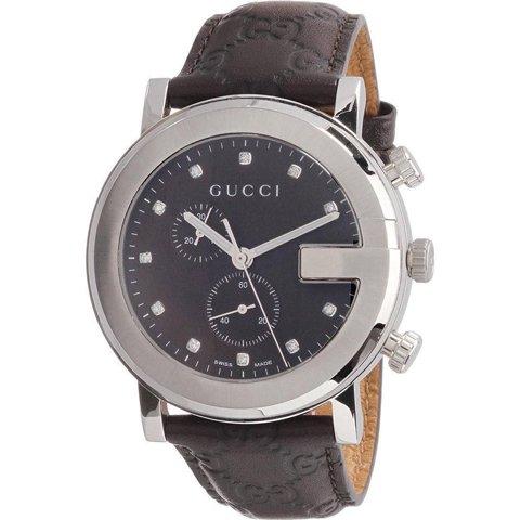 グッチ 腕時計 メンズ G-クロノ YA101344 ブラウン×ブラウン