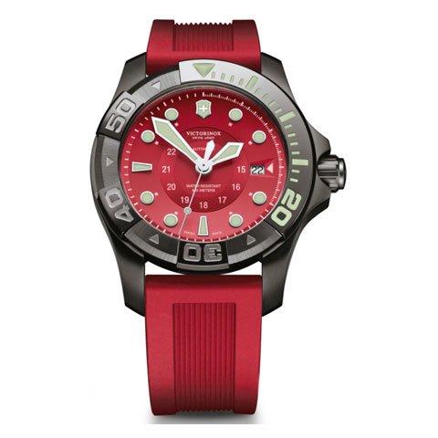 ビクトリノックス 腕時計 ダイブマスター500 241577 レッド×レッド