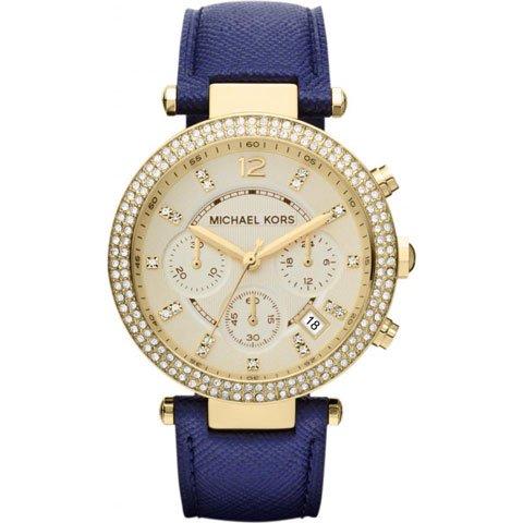 マイケルコース/腕時計/Michael Kors/パーカー/MK2280/ゴールド×ブルー
